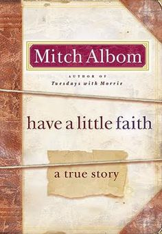 So good. I'm a closet Mitch Albom fan.