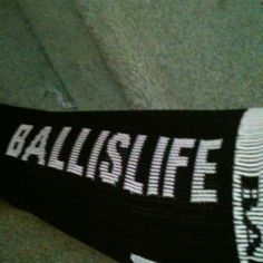 my new ball is life mid calf elite socks :)