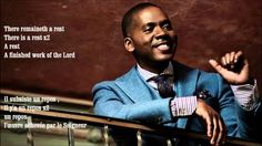 Walking With Faith In God 1: There Remaineth a Rest Donald Lawrence & Tri City Singers BY EYDELY WOR...