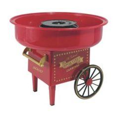 Máquina de algodón de azúcar con diseño exclusivo y de muy fácil uso