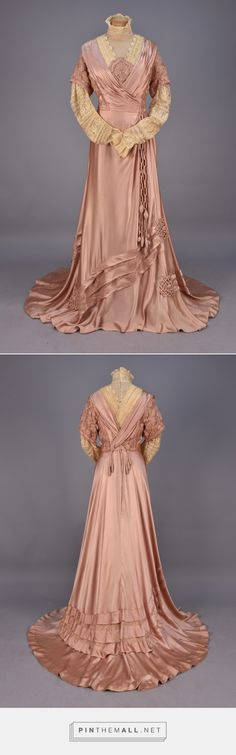 Afternoon dress ca. 1908 From Whitaker Auctions - created on 2016-04-18 22:47:51