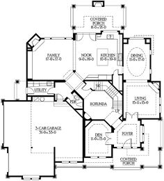 Intricate Craftsman for Corner Lots - 23176JD | Craftsman, Northwest, Luxury, Photo Gallery, Premium Collection, 2nd Floor Master Suite, Bonus Room, Butler Walk-in Pantry, CAD Available, Den-Office-Library-Study, MBR Sitting Area, PDF, Corner Lot | Architectural Designs