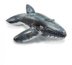 Luxe Opblaasbare Walvis (201x135cm) (Intex) #waterspeelgoed #opblaasspeelgoed #intex #zwembadspeelgoed #strandartikelen
