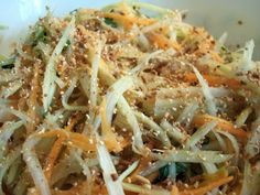 Le Canard Du Mékong : Salade de papaye aux crevettes