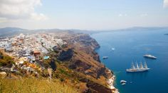Santorini, Greece Photography by iStock  Featured: travelchannel.com #dailyescape