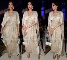 Sonam Kapoor At Anamika Khanna's Presentation At India Couture Week 2016-2
