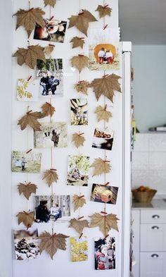 Colgar fotos con hojas de árbol    Jesień w najpiękniejszej postaci!