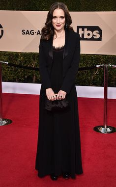Gina Rodriguez from 2018 SAG Awards Red Carpet Fashion