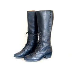 Vintage Ralph Lauren Equestrian Boots.