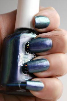 Scherer Chameleon Blue Sky #manicure #nailpolish
