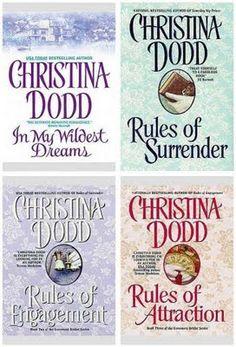 My favorite books of Christina Dodd's Governess bride series.