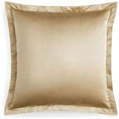Pratesi Up & Down European Sham ($150) ❤ liked on Polyvore featuring home, bed & bath, bedding, bed accessories, gold, pratesi, pratesi bedding, embroidered bedding, gold euro shams and gold bedding