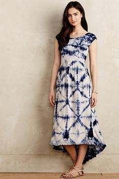 Skyscape Maxi Dress by The Odells Blue Motif from Anthropologie. Shop more products from Anthropologie on Wanelo. Dress Outfits, Fashion Dresses, Dress Shoes, Emo Outfits, Women's Fashion, Anthropologie Clothing, Anthropologie Uk, Frack, Batik Dress