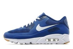 Nike Air Max 90 Ultra Essential 'Blue White' http://SneakersCartel.com #sneakers #shoes #kicks #jordan #lebron #nba #nike #adidas #reebok #airjordan #sneakerhead #fashion #sneakerscartel