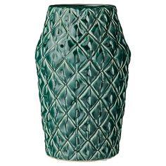 "Ceramic Vase - Teal (6.5"") - 3R Studios : Target"