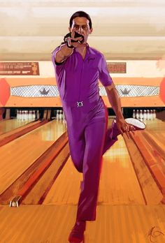 """'The Big Lebowski'  by Massimo Carnevale...love this move, love his character """"Jesus""""!"""