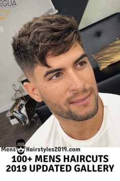 Mens Hairstyles 2019 Top 100 Mens Haircuts Variations - Men's style, accessories, mens fashion trends 2020 Medium Hair Cuts, Short Hair Cuts, Medium Hair Styles, Short Hair Styles, Popular Haircuts, Hairstyles Haircuts, Haircuts For Men, Short Men Haircut, Mens Crop Haircut