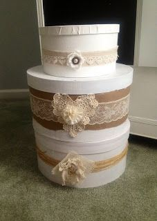 Vintage, Paint, and more....: Hat Boxes and More