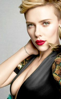 """Scarlett Johansson photoshoot for Marie Claire, 2017. """
