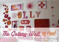 The Homes I Have Made: The Gallery Wall Up Close!