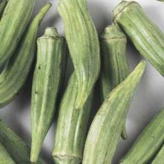 """Growing Okra. A Growing Guide of tips and techniques for growing okra...from """"Organic Gardening""""."""