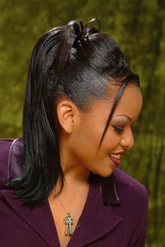 Just another style i wld try High Ponytail Hairstyles, High Ponytails, Retro Hairstyles, Black Girls Hairstyles, Wedding Hairstyles, Updo Styles, Ponytail Styles, Hair Styles, Bridal Updo