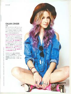 Gillian Zinser. Lilac Locks.