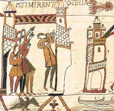 Alberti's Window: The Bayeux Tapestry and Halley's Comet Bayeux Tapestry, Medieval Tapestry, African American History, British History, Ottonian, Halley's Comet, Romanesque Art, Art Roman, Medieval Life