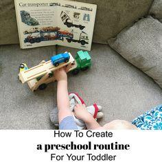 Preschool activities for toddlers