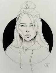Billie Eilish Drawing Google Search With Images Portrait