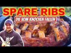🔥🐷 SCHICHTRIPPCHEN im DUTCH OVEN GRILLEN --- Klaus grillt - YouTube Dutch Oven, Pork, Beef, Youtube, Ribs, Crickets, Meat, Easy Meals, Cooking