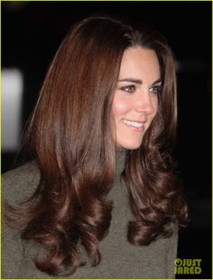 OK last one of Duchess Kate's hair.  Lovely.