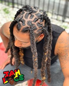 Jul 2019 - We haven't seen plaits in a while ! I love these and not to mention , I joined his locs about a month ago ! I'm so excited for his new… Mens Dreadlock Styles, Dreads Styles, Braid Styles, Dreadlock Hairstyles For Men, Messy Hairstyles, 1940s Hairstyles, Updo Hairstyle, Prom Hairstyles, Dread Braids