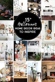 Witchy Halloween Dining Room - A Blue Nest Halloween Kitchen, Halloween Mantel, Halloween Home Decor, Halloween House, Halloween Diy, Halloween Decorations, Pumpkin Spice Candle, Ghost Decoration, Candle Labels