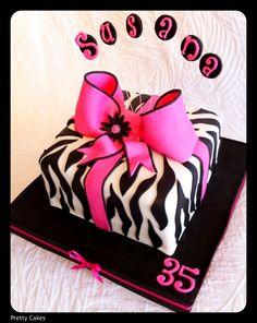 zebra cake!! Want this for my birthday!!