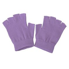 NonSlip Grip Fingerless Gloves Training Yoga Pilates Gloves  Purple *** Want additional info? Click on the image. (This is an affiliate link)