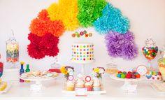Para se encantar (e colorir): festa arco-íris - Inesquecível Festa! Infantil & Teen