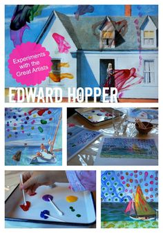 a great post with a ton of links to art history activities for kids.  Love this!