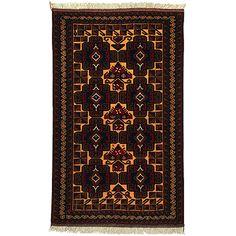 Beludj Fine - csomózott afgán szőnyeg - O 14135