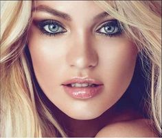 wedding makeup for blondes with blue eyes - Google Search ...