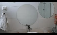 Kylpyhuoneremontit » Rakennus Trombit Oy - Saunaremontti Helsinki, Mirror, Bathroom, Furniture, Home Decor, Washroom, Bath Room, Interior Design, Bath