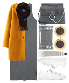 """""""Sem título #903"""" by andreiasilva07 ❤ liked on Polyvore featuring MANGO, Joshua's, WithChic, Abercrombie & Fitch, Grown Alchemist, Chloé, Dermalogica and H&M"""