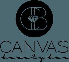 Canvas Beauty Bar | Making Beauty Social #logo #canvasbeautybar #canvasboone #diamondlogo