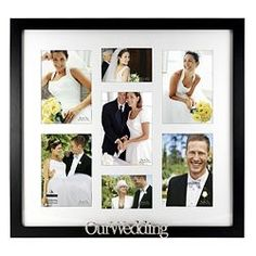 frames at shop our full selection of frames including this malden our wedding collage frame at