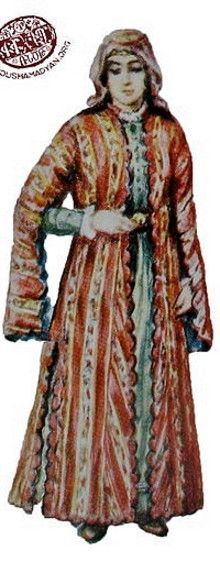Akhltskha Armenian Wedding Costume