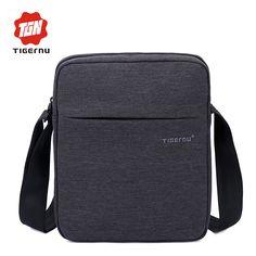 2017 봄 디자인 tigernu 브랜드 남성 메신저 가방 높은 품질 방수 어깨 가방 비즈니스 여행 크로스 바디 가방