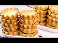 Тарталетки в домашних условиях! Песочные корзиночки для салатов и закусок на праздничный стол! - YouTube Waffles, Pancakes, Biscotti, Apple Pie, Bakery, Deserts, Bread, Candy, Cookies