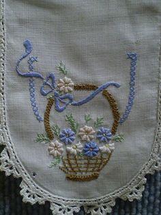 Basket of Flowers | Basket of Flowers on Doiley, Old Gippsto… | LindaB | Flickr