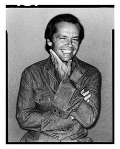 """Jack Nicholson by David Bailey, 1978 © David Bailey """"YOU like it, and I like you, so we're in business"""" National Portrait Gallery - 6 February - 1 June 2014 Jack Nicholson, Hollywood Stars, Classic Hollywood, Rolling Stones, The Beatles, David Bailey Photography, Wow Photo, Foto Portrait, Portrait Photography"""
