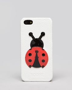Bodhi iPhone 5 Case - Lady Bug Leather | Bloomingdale's Iphone 5 Cases, 5c Case, Best Iphone, New Model, Leather Jewelry, Tech Accessories, Leather Handbags, My Style, Ladybugs